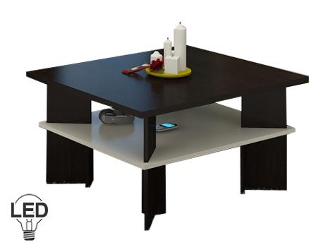 Konferenční stolek - WIP - Vectra 1 (wenge + krém)