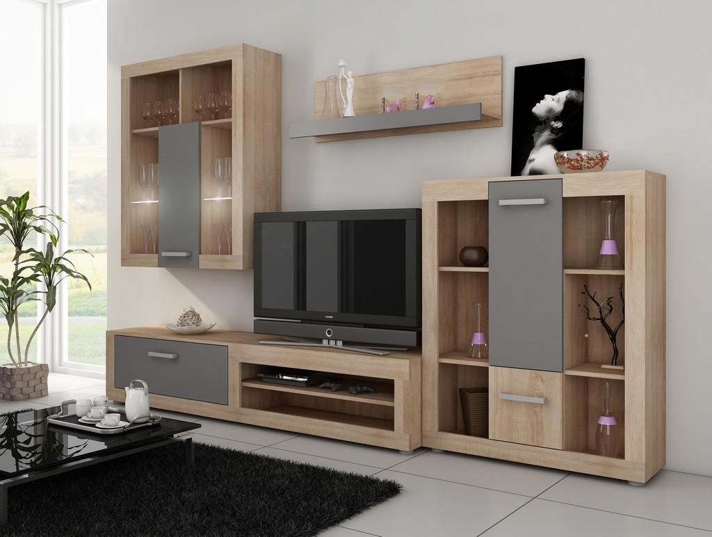 Obývací stěna - WIP - Viki 4