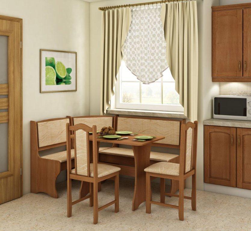 Rohový jídelní set - WIP - Komplet 1 (pro 5 osob)