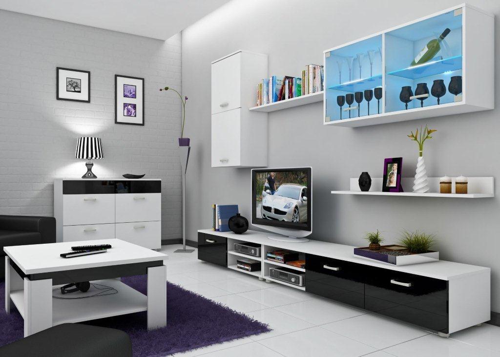 Obývací stěna - WIP - Magic 1
