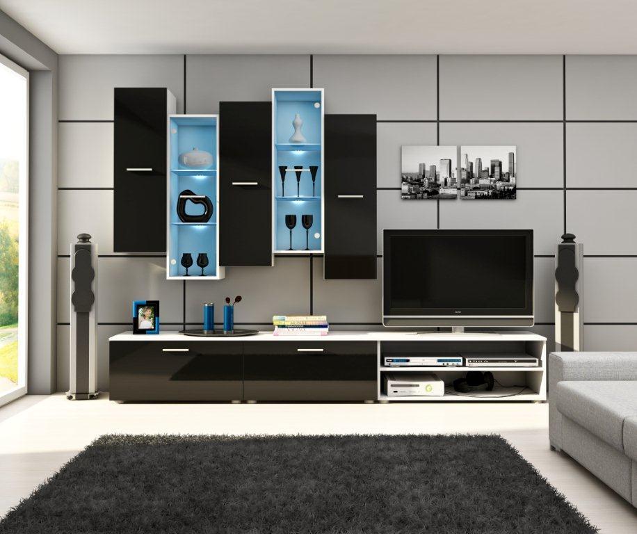 Obývací stěna - WIP - Piano 1